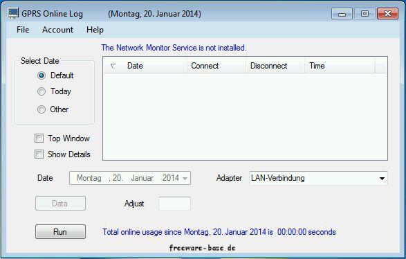 Vorschau GPRS Online Monitor - Bild 1