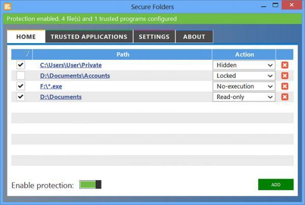 Vorschau Secure Folders - Bild 1
