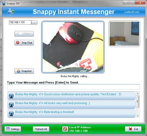 Vorschau SSuite Snappy IM - Bild 1