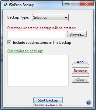 Vorschau NoProb Backup - Bild 1