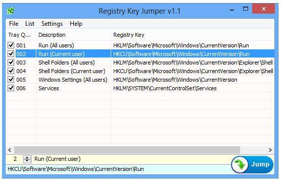Vorschau Registry Key Jumper - Bild 1
