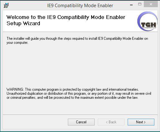 Vorschau IE9 Compatibility Mode Enabler - Bild 1