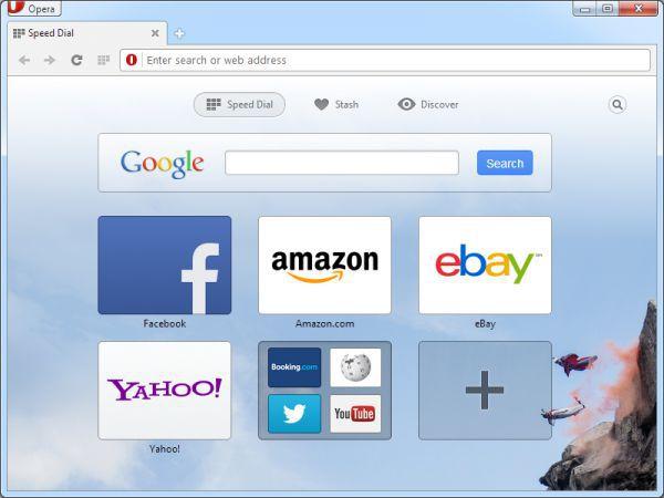 Vorschau Opera browser - Bild 1