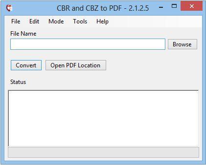 Vorschau CBR and CBZ to PDF - Bild 1