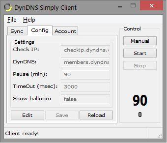 Vorschau DynDNS Simply Client Portable - Bild 1