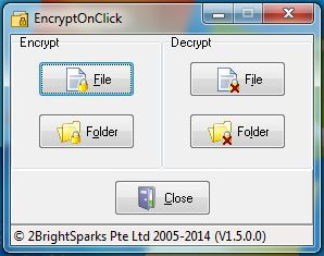 Vorschau EncryptOnClick - Bild 1