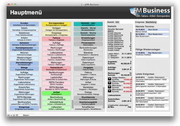 Vorschau gFM-Business free CRM + Warenwirtschaft - Bild 1