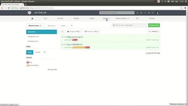 Vorschau Bitnami GitLab für Linux - Bild 1
