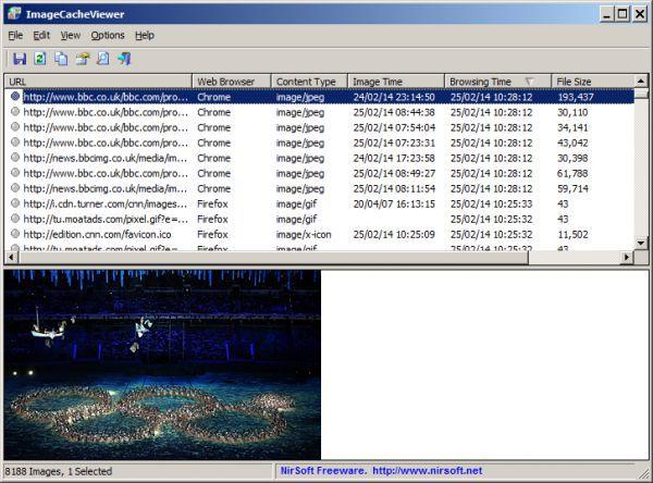 Vorschau ImageCacheViewer - Bild 1