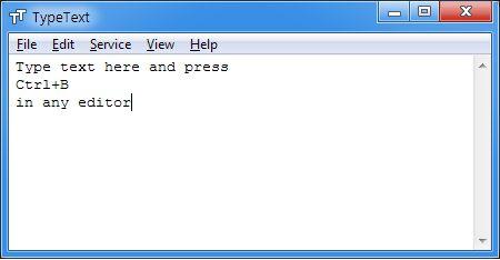 Vorschau TypeText - Bild 1