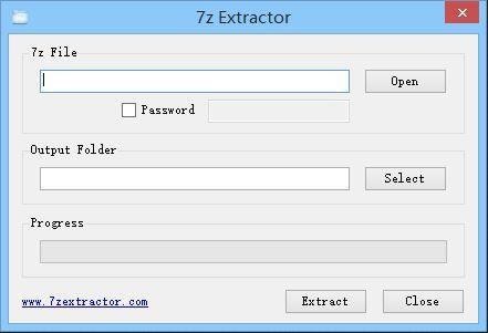 Vorschau 7z Extractor - Bild 1
