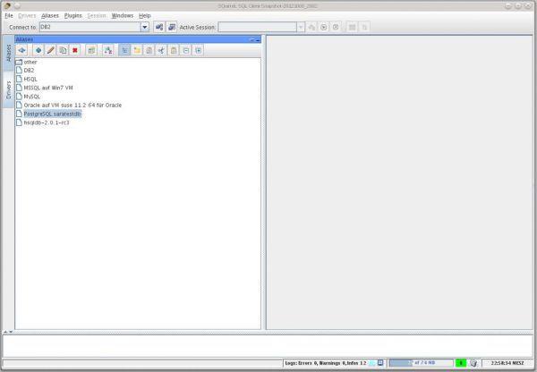 Vorschau SQuirrel SQL Client - Bild 1