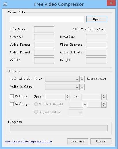 Vorschau Free Video Compressor - Bild 1