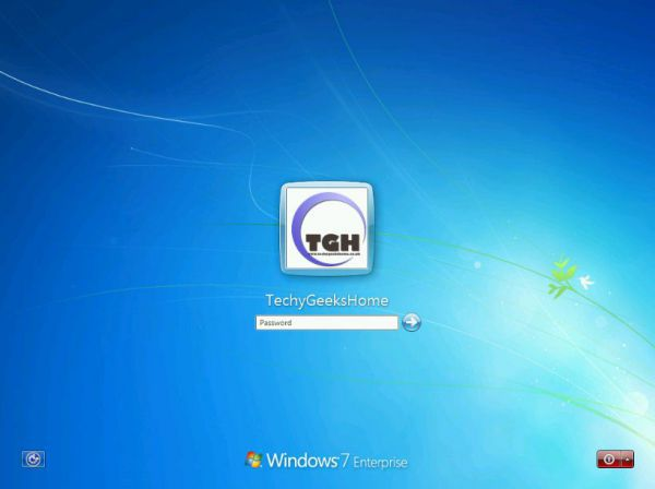Vorschau Windows 7 Lock Screen Changer - Bild 1