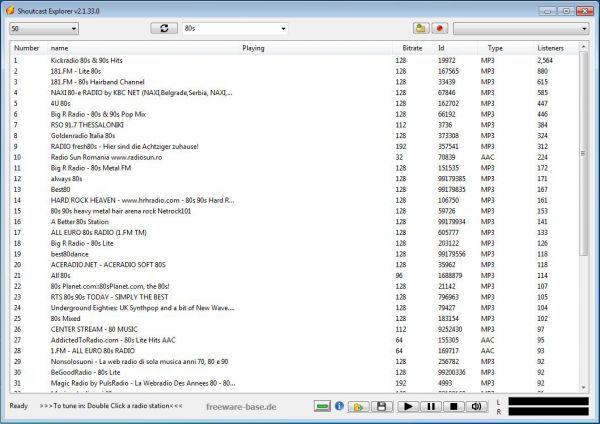 Vorschau Shoutcast Explorer - Bild 1