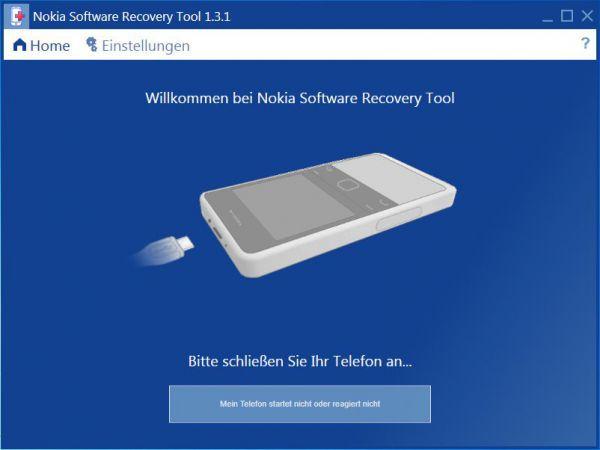 Vorschau Nokia Software Recovery Tool - Bild 1