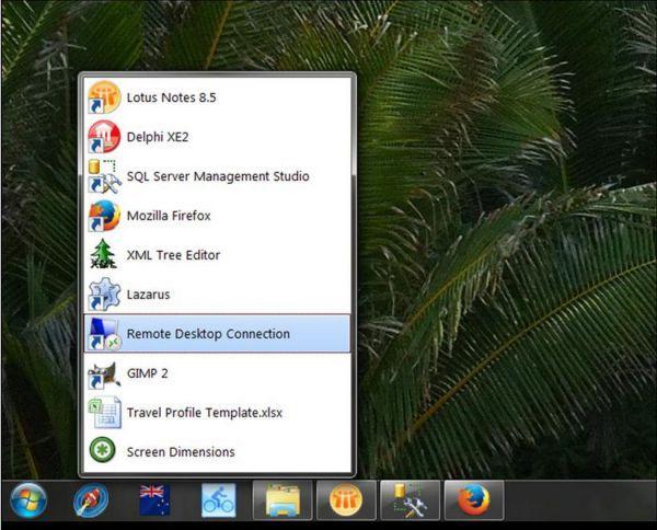 Vorschau Windows 7 Quick Application Launcher - Win7QL - Bild 1