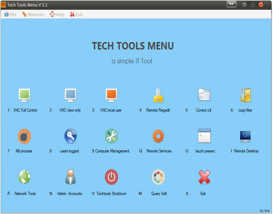 Vorschau Tech Tools Menu - Bild 1