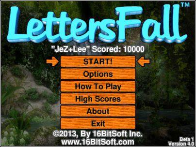Vorschau LettersFall - Bild 1