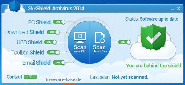 Vorschau SkyShield Antivirus - Bild 1