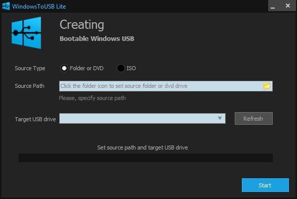 Vorschau WindowsToUSB - Bild 1
