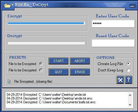 Vorschau File_EnDeCrypt - Bild 1