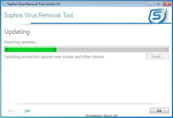 Vorschau Sophos Virus Removal Tool - Bild 1