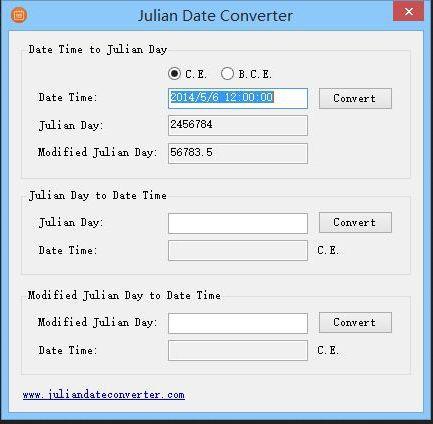 Vorschau Julian Date Converter - Bild 1