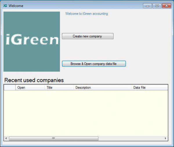 Vorschau iGreen Accounting - Bild 1