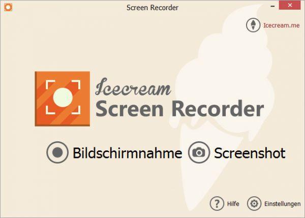 Vorschau IceCream Screen Recorder - Bild 1