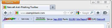 Vorschau Netcraft Toolbar - Bild 1