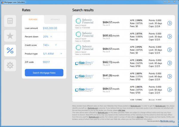 Vorschau Mortgage Calculator by MLCalc.com - Bild 1