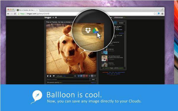 Vorschau Ballloon for Chrome - Bild 1