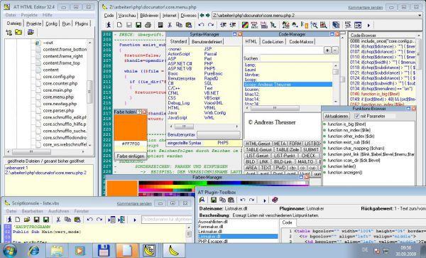 Vorschau AT HTML Editor 32 - Bild 1