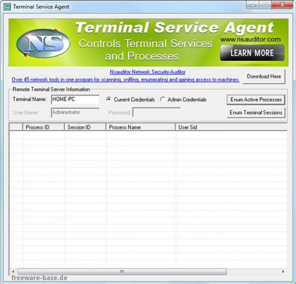 Vorschau Terminal Service Agent - Bild 1