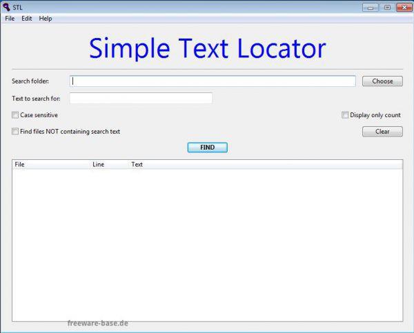 Vorschau Simple Text Locator - Bild 1