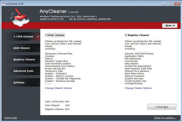 Vorschau AnyCleaner - Bild 1