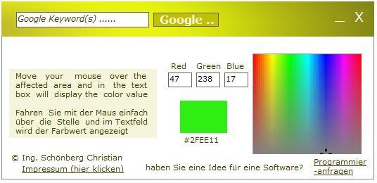 Vorschau Farbwert ermitteln determine color value - Bild 1