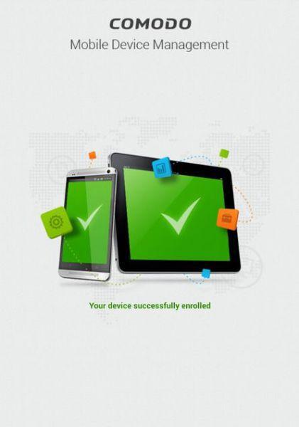Vorschau Comodo Device Manager für Android - Bild 1