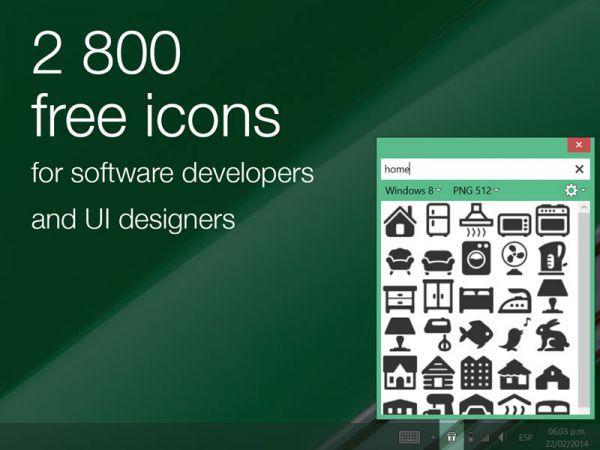 Vorschau Icons8 App for Windows - Bild 1