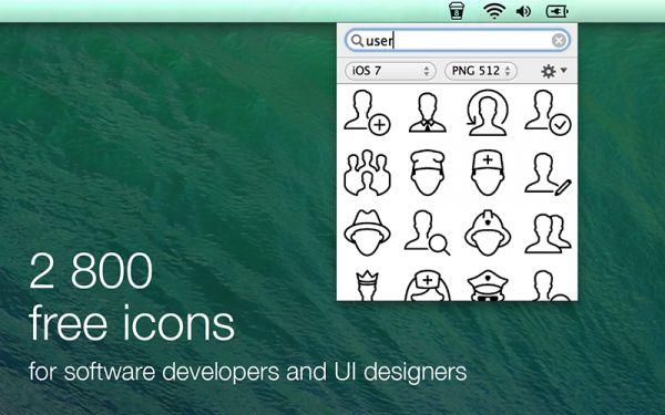Vorschau Icons8 App for Mac - Bild 1