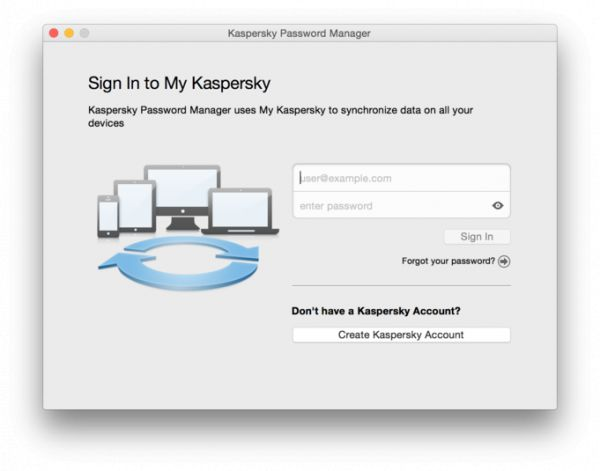 Vorschau Kaspersky Password Manager for Mac - Bild 1