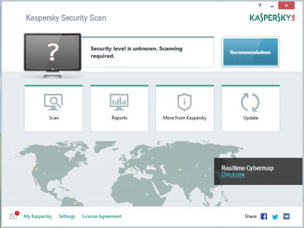 Vorschau Kaspersky Security Scan - Bild 1