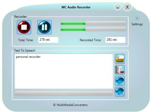 Vorschau MC Audio Recorder - Bild 1