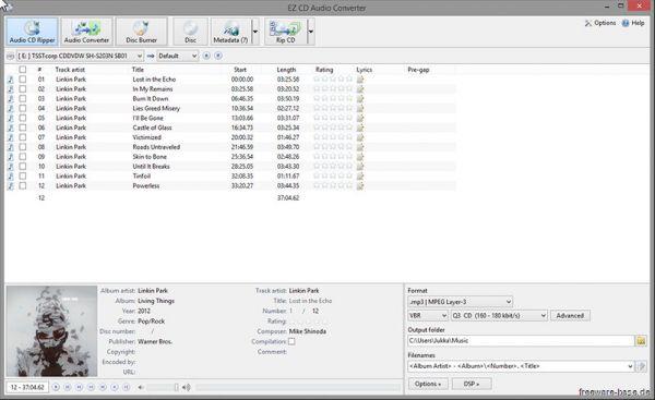 Vorschau EZ CD Audio Converter Free - Bild 1