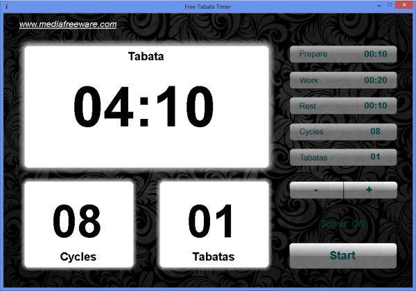 Vorschau Free Tabata Timer - Bild 1
