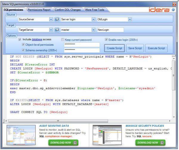 Vorschau SQL Permissions Extractor - Bild 1