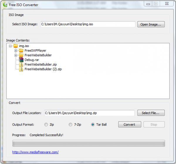 Vorschau Free ISO Converter - Bild 1