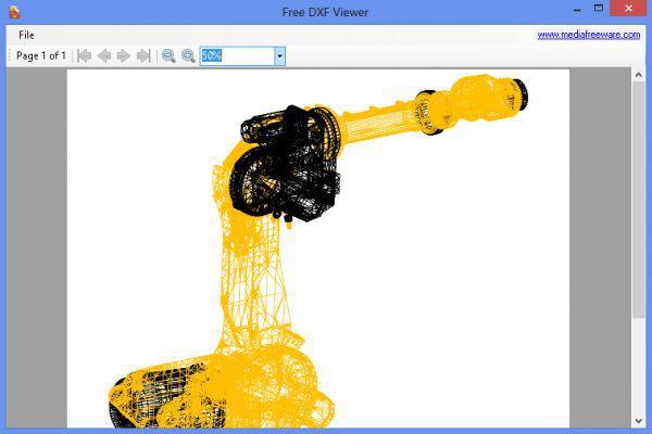 Vorschau Free DXF Viewer - Bild 1