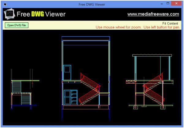 Vorschau Free DWG Viewer - Bild 1